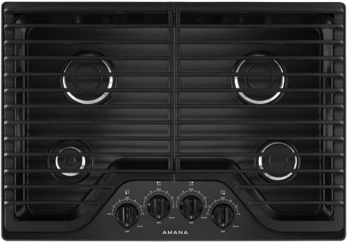 Amana AGC6540KFB - Black Front View
