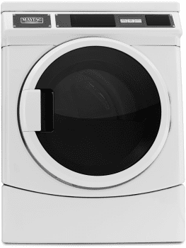 Maytag Commercial Laundry MDE28PRCYW - Front View