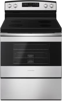 Amana AER6303MFS - Electric Range in Black-on-Stainless from Amana