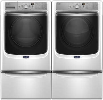 Maytag Heritage Series MAWADREW2 - Side-by-Side with Pedestals