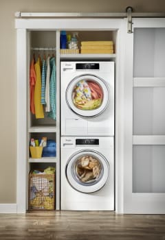 Whirlpool WPWADRE702 Stacked Washer & Dryer Set with Front ...