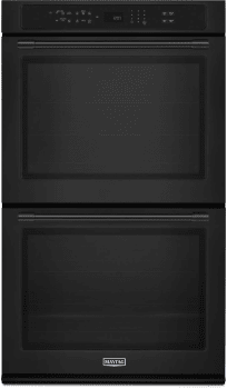 Maytag MEW9627FB - Black Front View