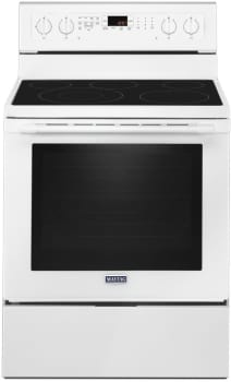 Maytag MER8800FW - White Front View