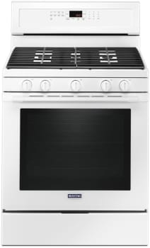 Maytag MGR8800FW - White Front View