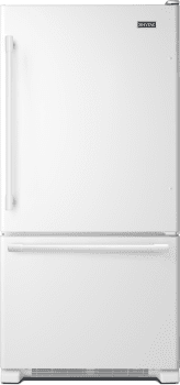 Maytag MBF2258FEW - Bottom Freezer Refrigerator from Maytag
