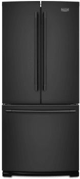 Maytag MFF2055FRB - Maytag 30-Inch French Door Refrigerator with 20 cu. ft. Capacity and Factory-Installed Ice Maker in Black