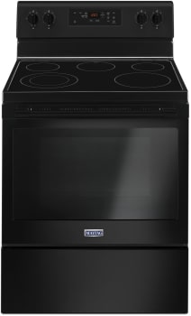 Maytag MER6600FB - Black Front View