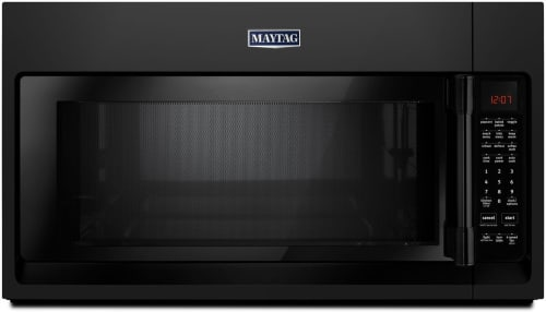 Maytag MMV5220FB - Black Front View