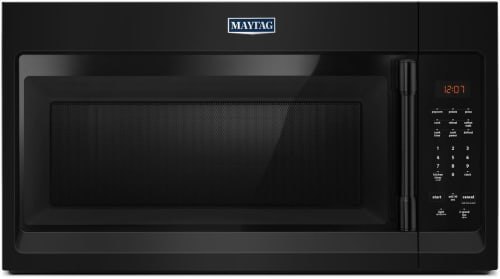Maytag MMV1174FB - Black Front View
