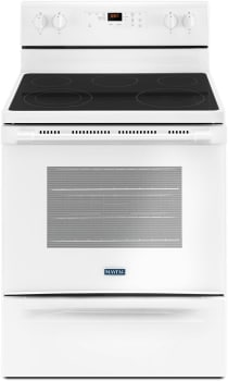 Maytag MER6600FW - White Front View