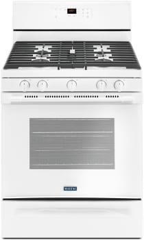 Maytag MGR6600FW - White Front View