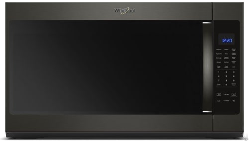 Whirlpool WMH53521HV - Black Stainless Steel Front View