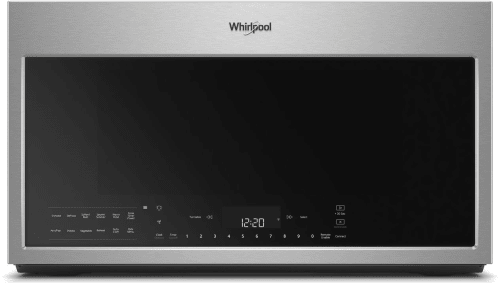 Whirlpool WMH78019HZ - Stainless Steel Front View