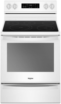 Whirlpool WFE775H0HW - White Front View