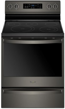 Whirlpool WFE775H0HV - Black Stainless Steel Front View