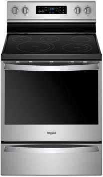 Whirlpool WFE775H0HZ - Stainless Steel Front View