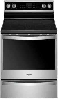 Whirlpool WFE975H0HZ - Stainless Steel Front View