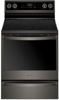 Whirlpool WFE975H0HV - Black Stainless Steel Front View