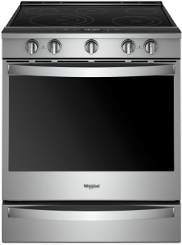Whirlpool WEE750H0HZ - Stainless Steel Front View