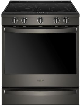 Whirlpool WEE750H0HV - Black Stainless Steel Front View