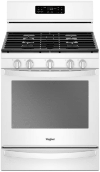 Whirlpool Wfg775h0hw White Front View