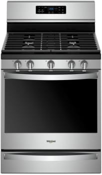 Whirlpool WFG775H0HZ - Stainless Steel Front View