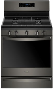 Whirlpool WFG775H0HV - Black Stainless Steel Front View