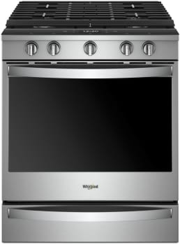 Whirlpool WEG750H0HZ - Stainless Steel Front View