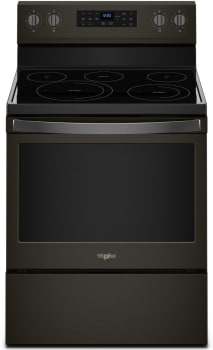 Whirlpool WFE550S0HV - Black Stainless Steel Front View