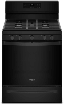 Whirlpool WFG550S0HB - Black Front View