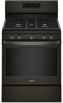 Whirlpool WFG550S0HV - Black Stainless Steel Front View