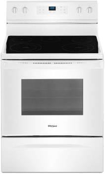 Whirlpool WFE550S0HW - White Front View