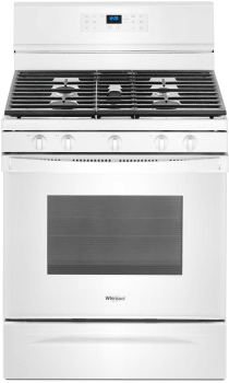 Whirlpool WFG550S0HW - White Front View