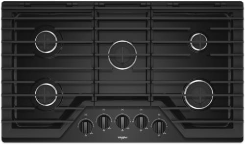 Whirlpool WCG55US6HB - Black Front View