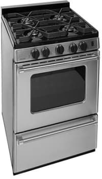 "Premier Pro Series P24S3102PS - 24"" Gas Range with 4 Sealed Burners"