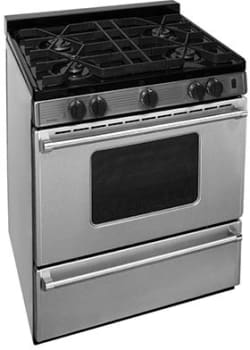 "Premier Pro Series P30B3102PS - 30"" Gas Range with 4 Sealed Burners"