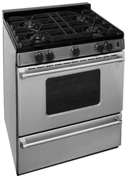 "Premier Pro Series P30S3102PS - 30"" Gas Range with 4 Sealed Burners"