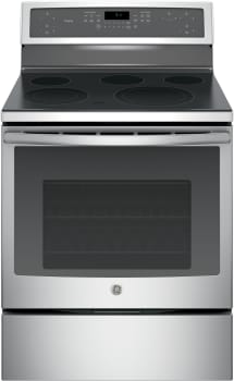"GE Profile PB911 - GE Profile Series 30"" Electric Convection Range (Stainless Steel)"