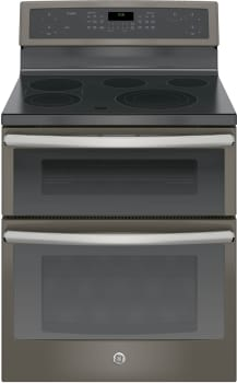 "GE Profile PB960EJES - GE Profile Series 30"" Electric Double Convection Oven (Slate)"