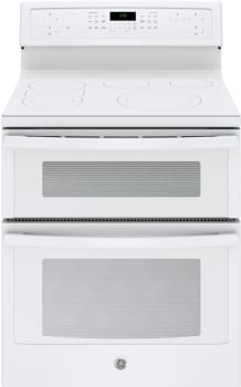 "GE Profile PB960TJWW - GE Profile Series 30"" Electric Double Convection Oven (White)"