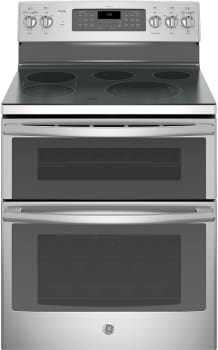 "GE Profile PB980SJSS - 30"" Freestanding Double Electric Oven Convection Range"