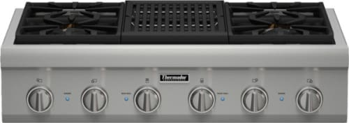 Thermador Professional Series PCG364NL - Featured View with Grill