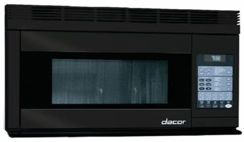 Dacor Discovery PCOR30B - 1.1 cu. ft. Over-the-Range Convection Microwave with 850 Watts, 300CFM Venting System, Convection Technology, Sensor Modes, Interactive Touchscreen Display and 2-Level Cooking Rack