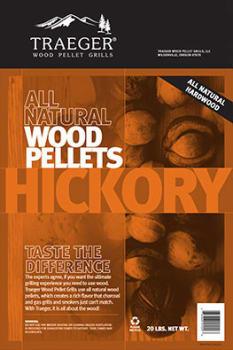 Traeger PEL304 - Hickory BBQ Pellets