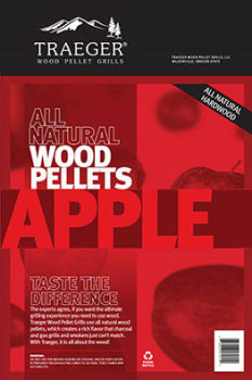 Traeger PEL313 - Apple BBQ Pellets