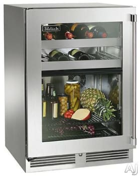 Perlick Signature Series HP24CO33L - Lifestyle View (Stainless Steel-Glass) Pictured