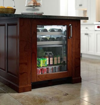 Perlick Signature Series HP24CO34R - Lifestyle View (Panel Ready-Glass Pictured)