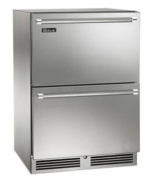 Perlick Signature Series HP24ZO36 - Front View (Stainless Steel Pictured)