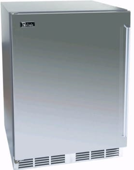 Perlick Signature Series HP24BS1L - 24-inch Stainless Beverage Center w/Solid Stainless Steel Door