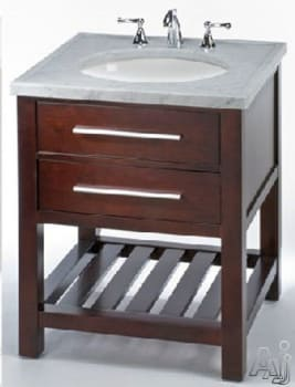 Empire Industries Madison 30 Bathroom Vanity empire industries pf30dc 30 inch contemporary vanity with 1 drawer